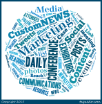 Our CustomNEWS Word Cloud!