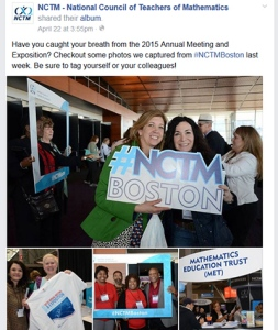 Facebook photo albums are a great way to share images and encourage attendees to add comments and tags.