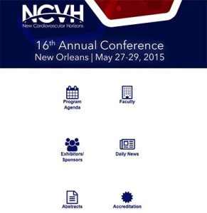 NCVH's mobile site includes the conference's daily newspaper.