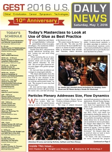 Feature conference news, photos and daily schedules in your show daily.